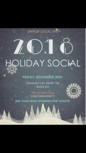 Holiday Social 2018 @ Italian Club   Regina   Saskatchewan   Canada