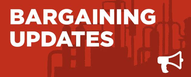 Bargaining Updates